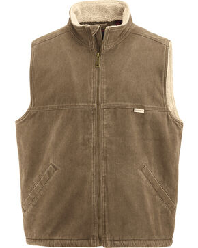 Wolverine Men's Upland Vest, Brown, hi-res