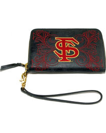 Gameday Boots Florida State University Leather Wristlet, , hi-res
