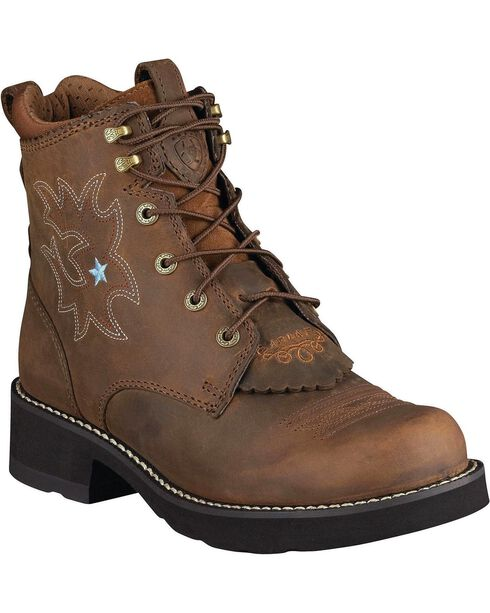 Ariat Women's ProBaby Lacer Western Boots, Driftwood, hi-res