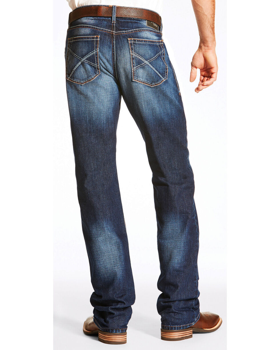 Ariat Men's M4 Reeve Riverton Jeans - Boot Cut, Blue, hi-res