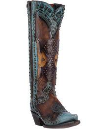 Dan Post Women's Natasha Studded Western Boots, , hi-res
