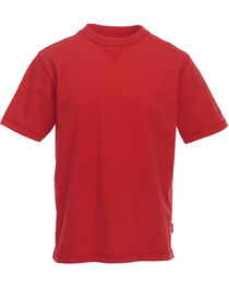 Woolrich Men's Red First Forks Solid T-Shirt , , hi-res