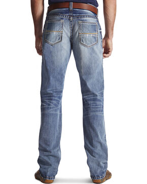 Ariat Men's M4 Coltrane Durango Low Rise Fashion Boot Cut Jeans, Denim, hi-res