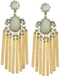 Shyanne Women's Rhinestone Chandelier Earrings, , hi-res