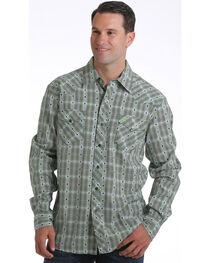 Cinch Men's Garth Brooks Plaid Long Sleeve Shirt, , hi-res