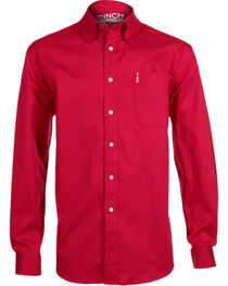 Cinch Men's Modern Fit Long Sleeve Western Shirt, , hi-res