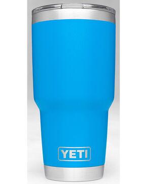 Yeti Tahoe Blue 30oz. Sliding Lid Rambler , Blue, hi-res