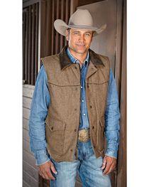 STS Ranchwear Men's Lariat Wool Vest, , hi-res