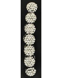 Blazin Roxx Crystal Ball Beaded Stretch Bracelet, , hi-res