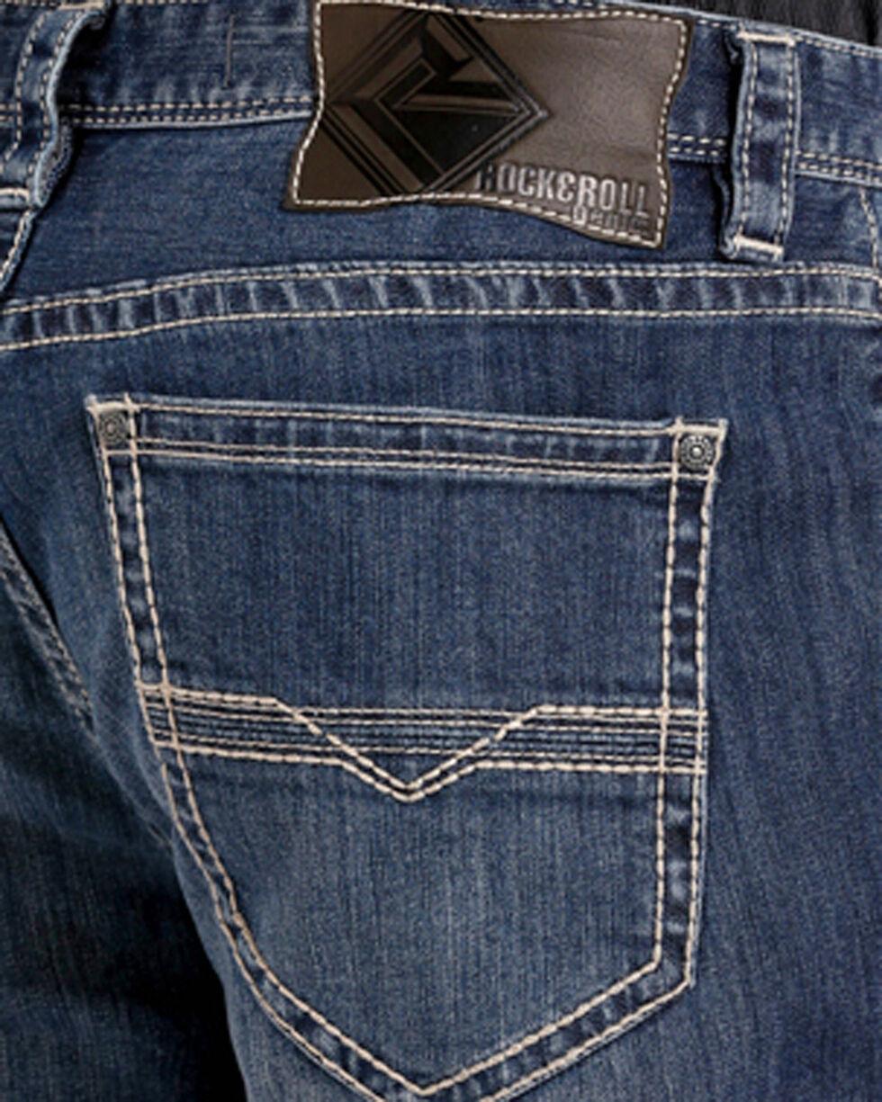 Rock & Roll Cowboy Men's ReFlex Cannon Jeans - Boot Cut , Indigo, hi-res