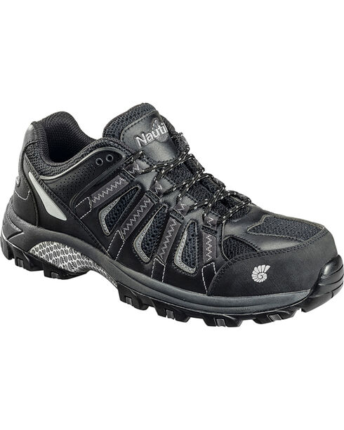 Nautilus Men's Composite Toe EH Athletic Shoes, Black, hi-res
