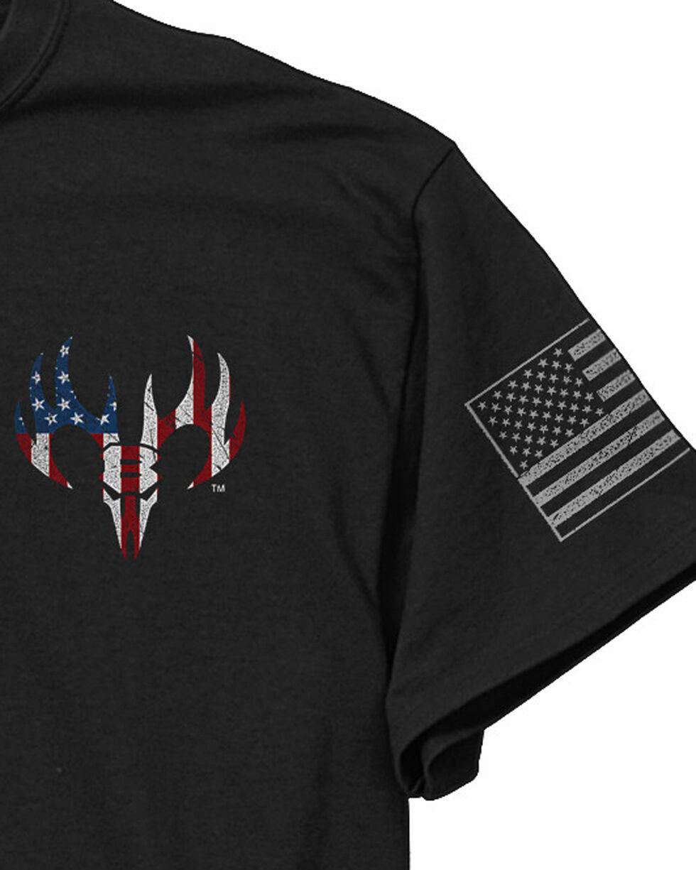 Buck Wear Men's Tag Honor Tee, Black, hi-res