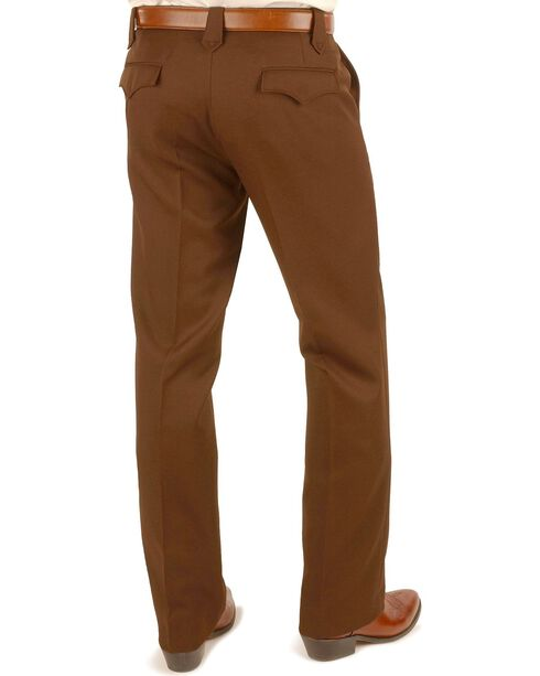"Circle S Xpand Expandable Waistline Pants - Big - Up to 50"" Waist, Chocolate, hi-res"