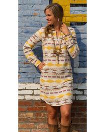 Ryan Michael Women's Blanket Jacquard Dress , , hi-res