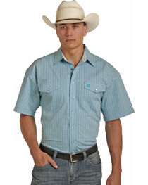 Panhandle Men's Cotton Satin Check Shirt , , hi-res