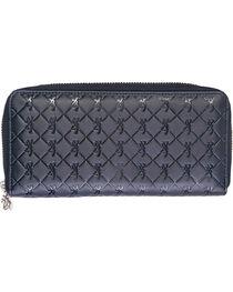Browning Women's Zip Around Buckmark Wallet, , hi-res