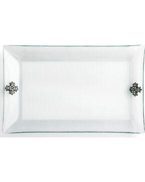 Demdaco Embellished Glass Platter , No Color, hi-res