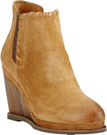 Ariat Women's Belle Wedge Ankle Boots, , hi-res
