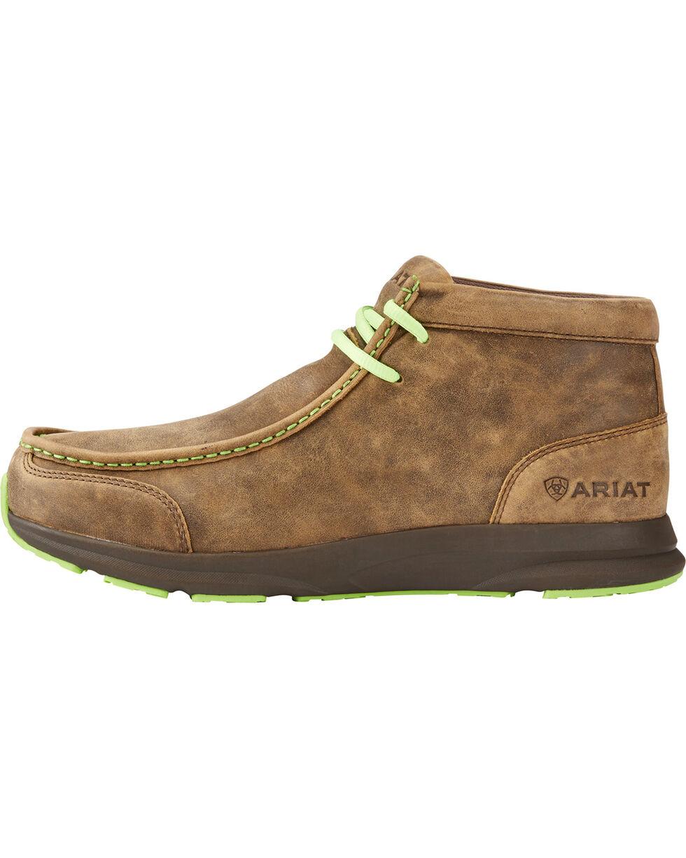 Ariat Men's Brown Spitfire Bomber Shoes , Brown, hi-res