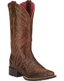 Ariat Women's Brilliance Performance Western Boots, , hi-res