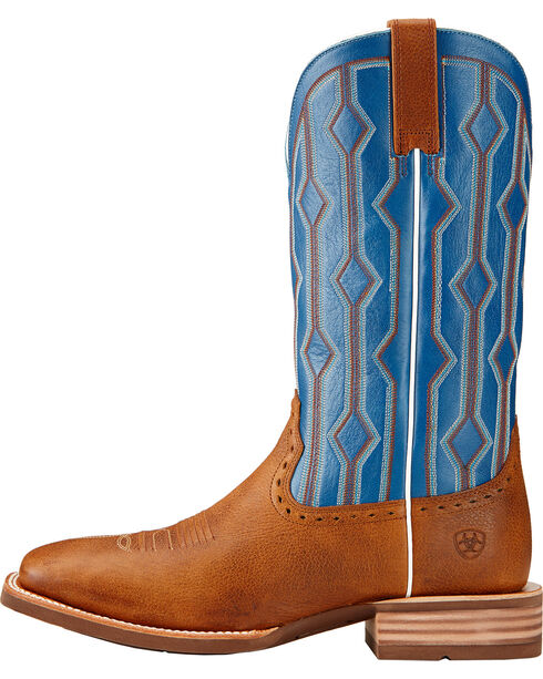 Ariat Men's Live Wire Western Boots, Copper, hi-res