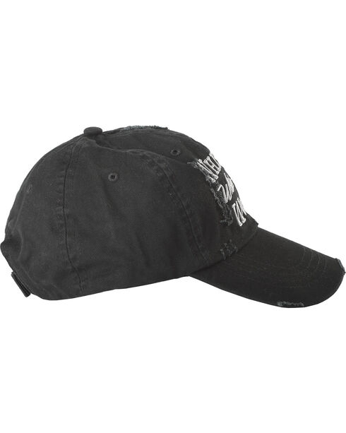 Cody James Men's Whiskey While You Work Ball Cap, Black, hi-res