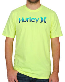 Hurley Men's One & Only Short Sleeve T-Shirt, Heather Grey, hi-res