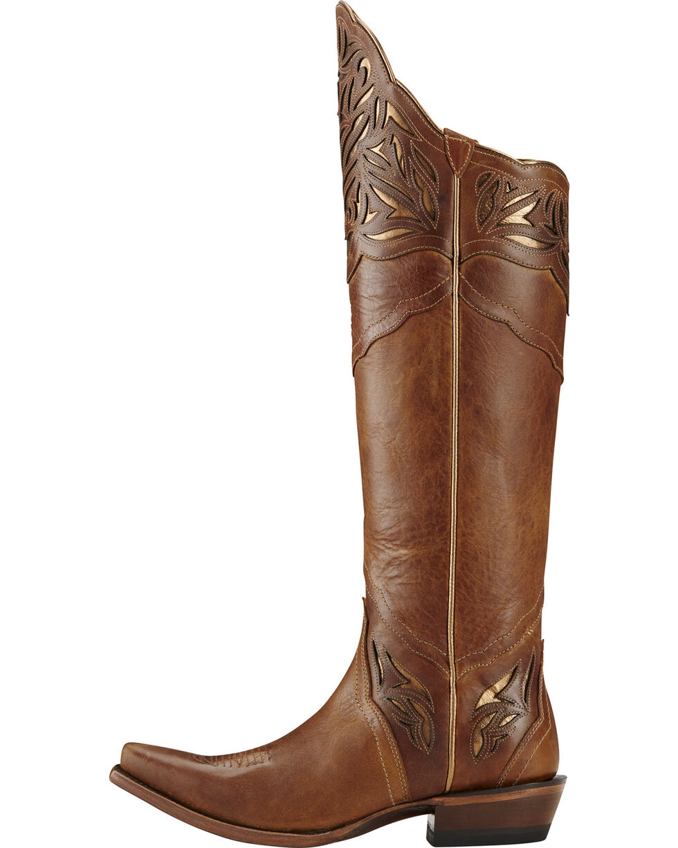 Ariat Women's Chaparral Brilliant Buff Western Boots, Brown, hi-res
