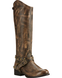 Ariat Brooklyn Brown Manhattan Fashion Western Boots, , hi-res