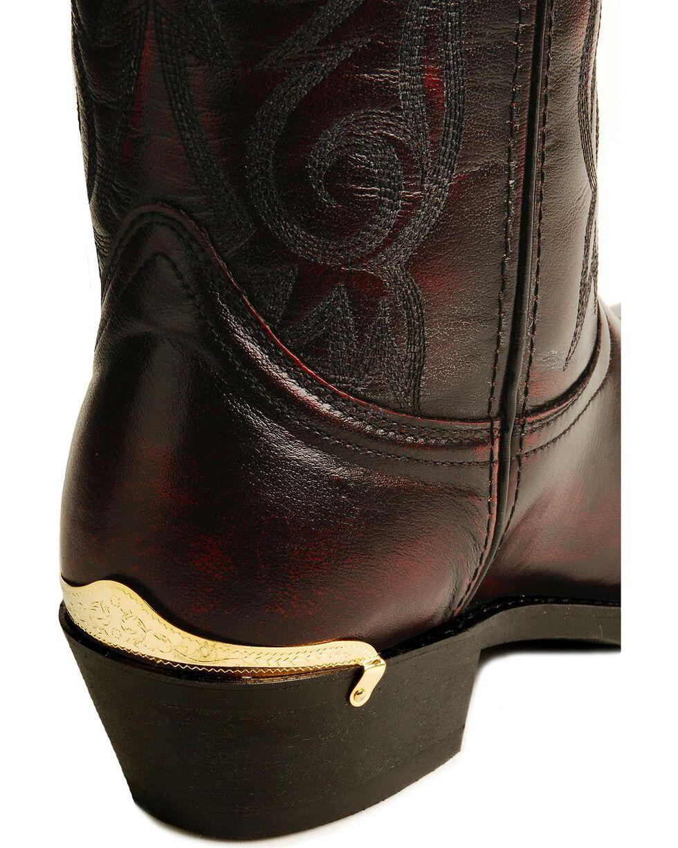 Laredo Men's McComb Western Boots, Burnt Apple, hi-res