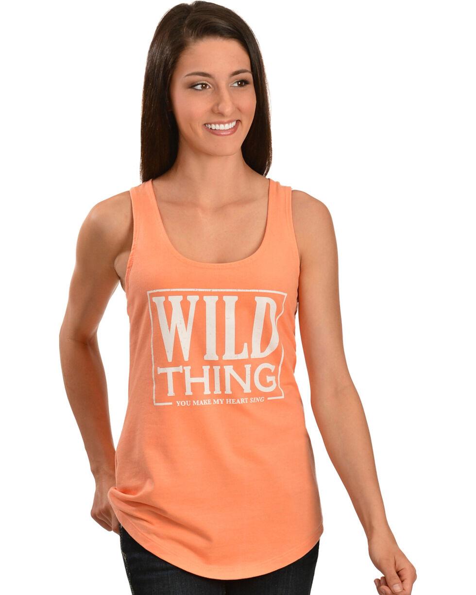 ATX Mafia Wild Thing Tank Top, Orange, hi-res