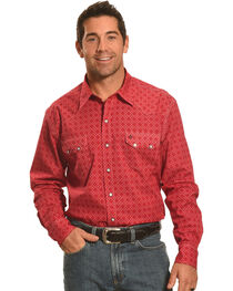 Garth Brooks Sevens by Cinch Print Pattern Western Shirt, , hi-res