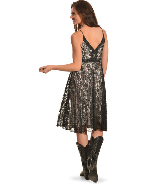 Black Swan Women's Black Lace Valerie Dress , Black, hi-res