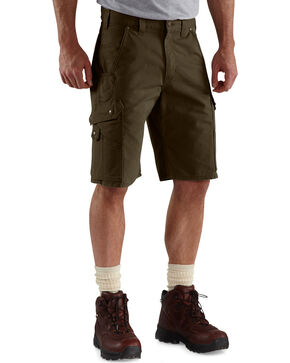 Carhartt Ripstop Cargo Work Shorts, Coffee, hi-res