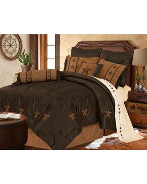 HiEnd Accents Laredo Comforter Set, Chocolate, hi-res