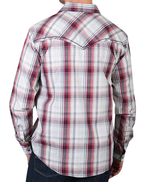 Cody James Men's Gold Nugget Long Sleeve Plaid Western Shirt, Tan, hi-res