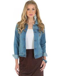 Wrangler Women's Premium Denim Jacket, , hi-res