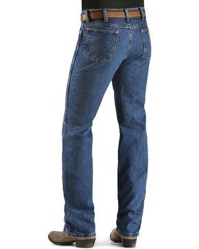 Wrangler Men's Cowboy Cut Slim Fit Jeans, Dark Stone, hi-res