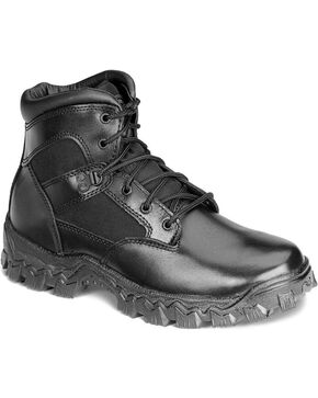 Rocky Men's Alpha Force Duty Military Boots, Black, hi-res