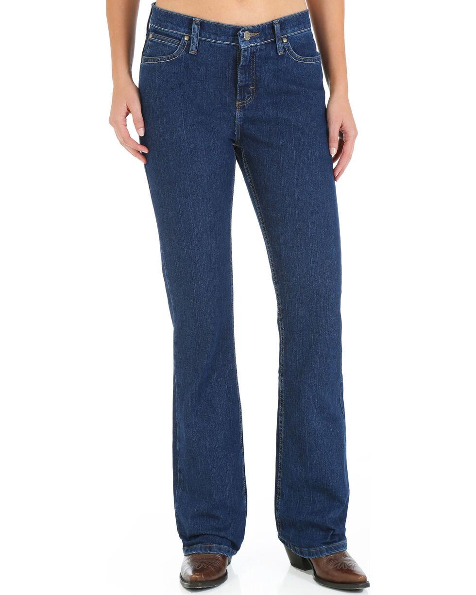 As Real As Wrangler Women's Classic Fit Boot Cut Jeans, Denim, hi-res