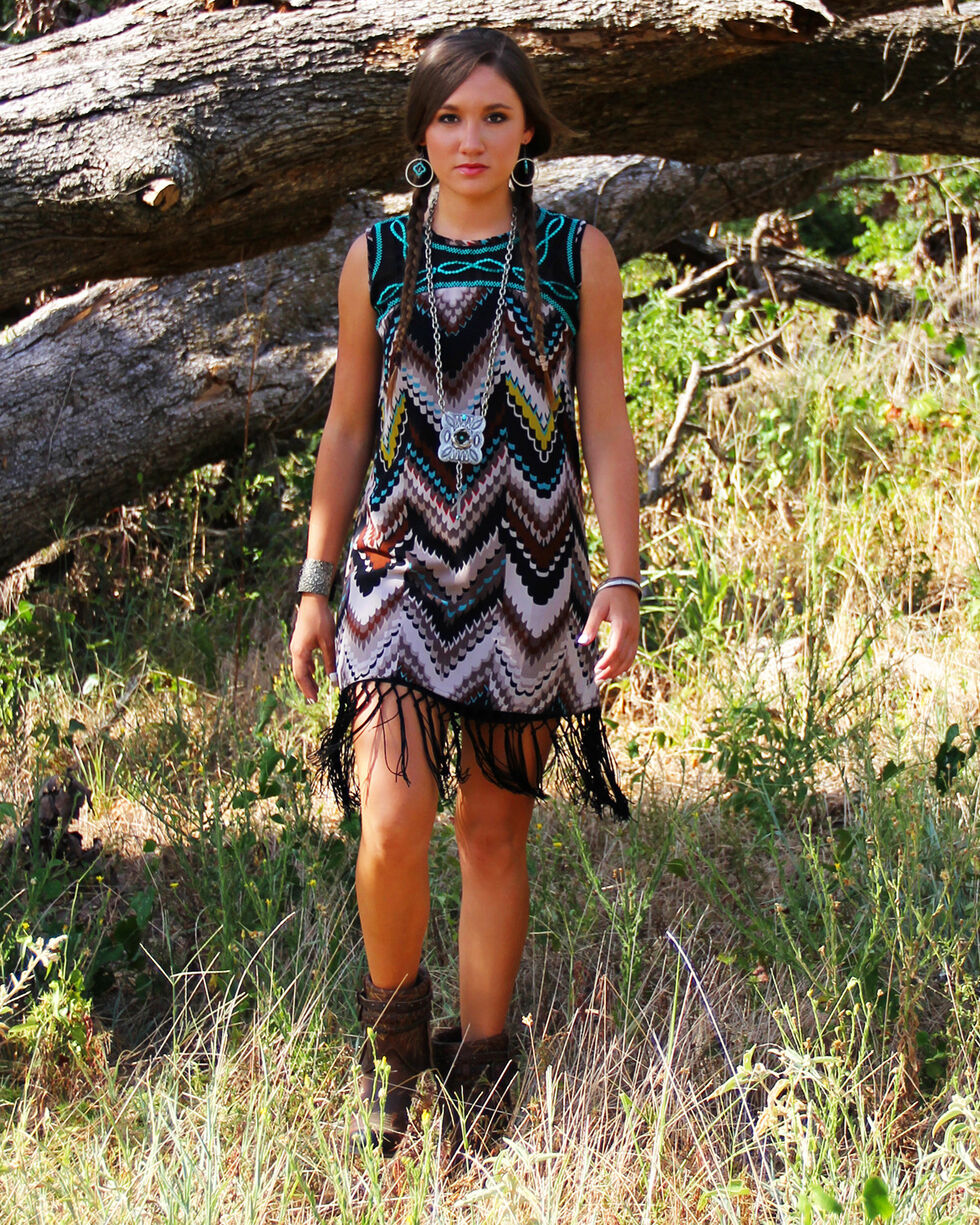 R Cinco Ranch Women's We Stand Sleeveless Dress, , hi-res