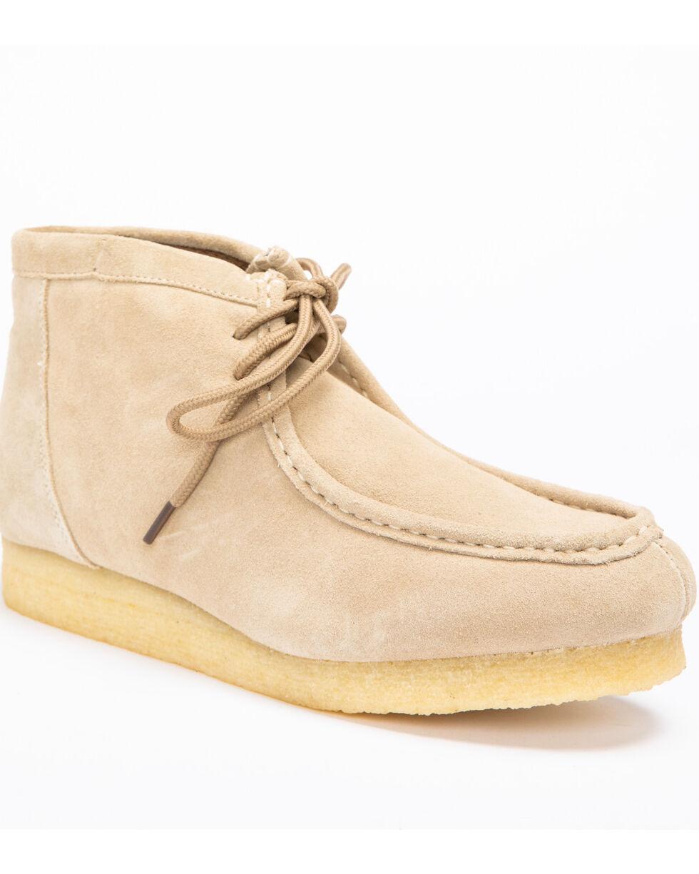 Roper Footwear Men's Performance Casual Desert Sticker Casual Boots, Sand, hi-res