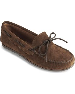 Minnetonka  Classic Moccasin, Dusty Brn, hi-res