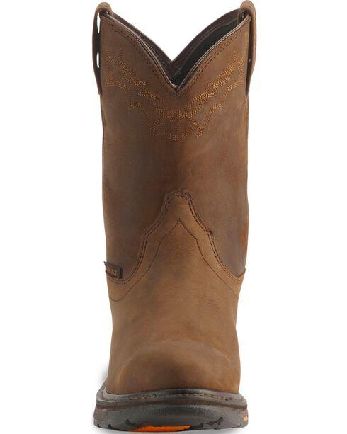 "Ariat Men's 10"" Workhog H2O Work Boots, Distressed, hi-res"