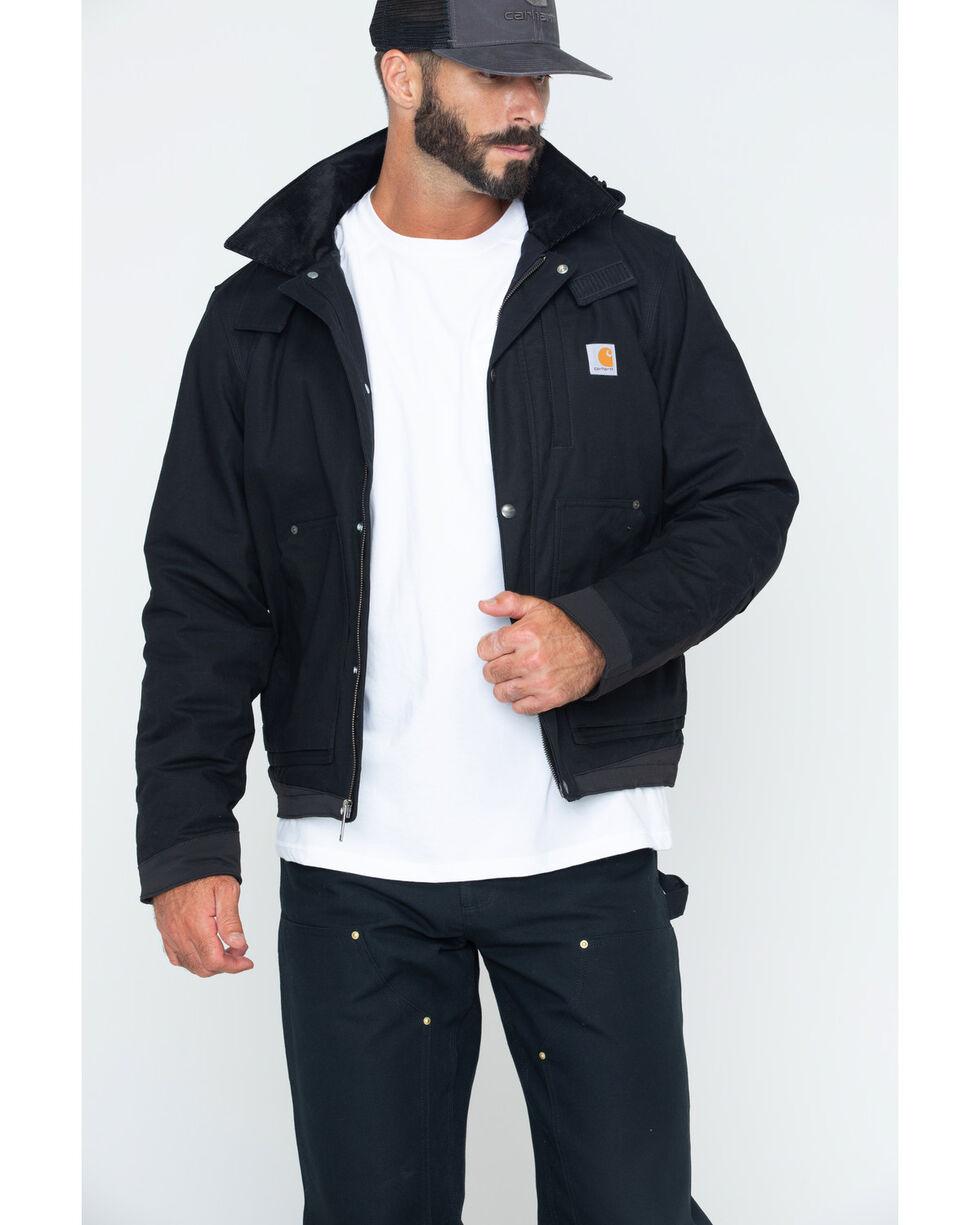 Carhartt Men's Full Swing Steel Jacket, Black, hi-res