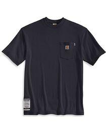 Carhartt Men's Flame Resistant Short Sleeve T-Shirt, , hi-res