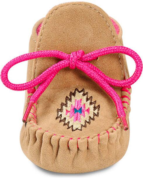 Blazin Roxx Infant Girls' Kendra Baby Bucker Booties - Moc Toe, Pink, hi-res