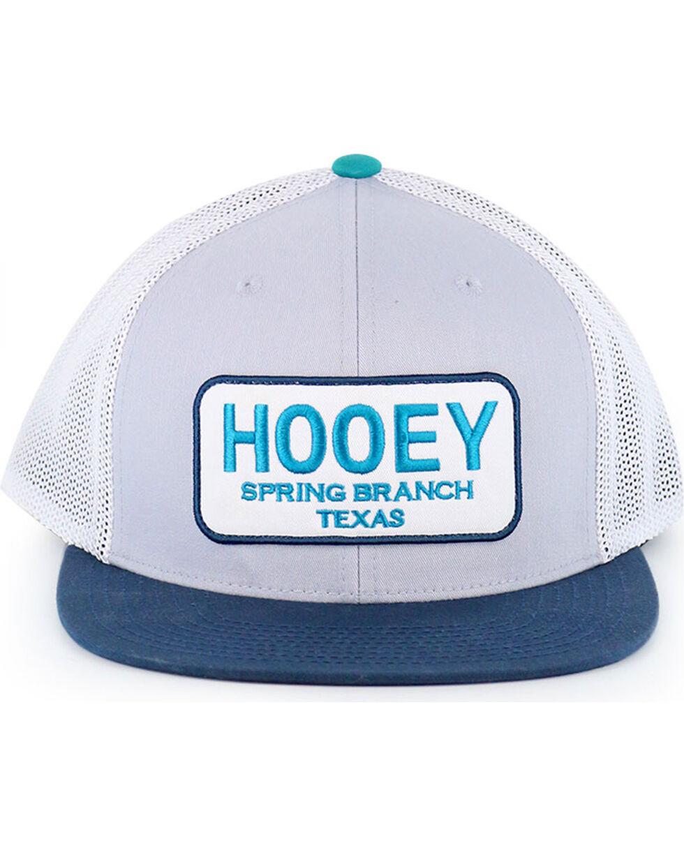HOOey Men's Hometown Snapback Ball Cap, Grey, hi-res