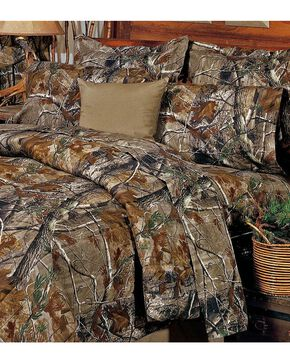 Realtree All Purpose California King Sheet Set, Camouflage, hi-res