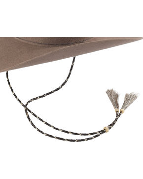 Colorado Horsehair Stampede Strings Hatband , Natural, hi-res